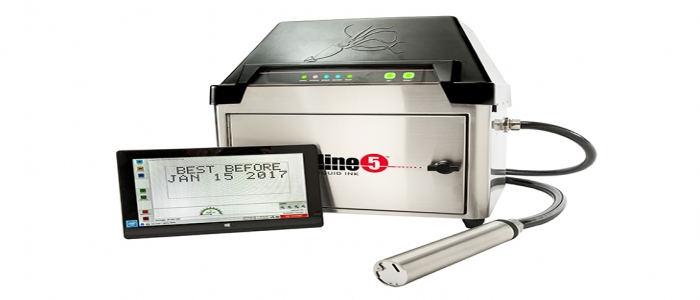 The Streamline 5 CIJ Small Character Printing System